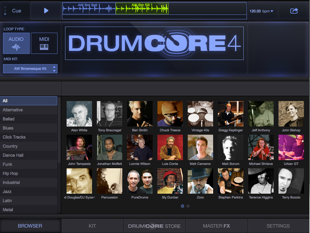 DrumCore 4 AAX/VST3/AU Plug-in for Mac and Windows is Now Shipping Image