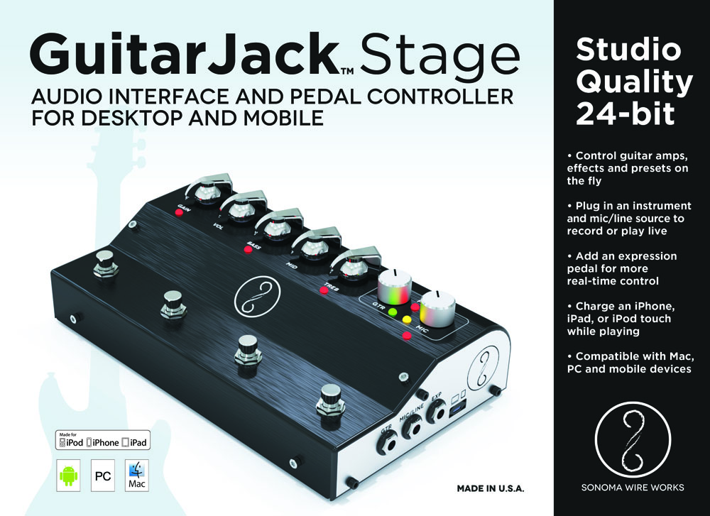 GuitarJack Stage Box Front