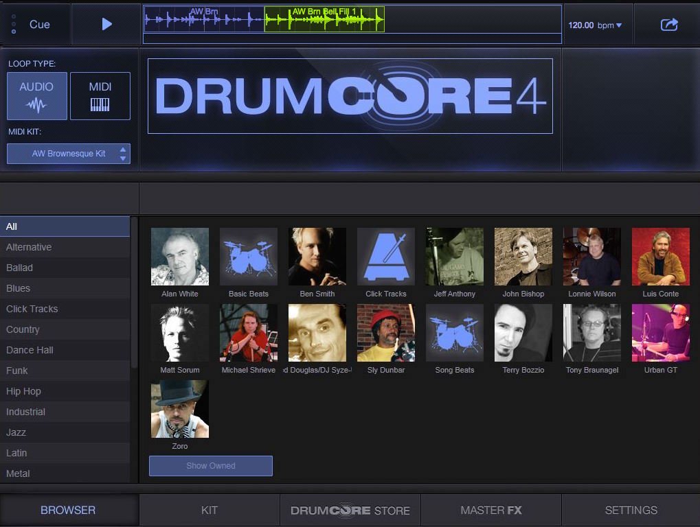 DrumCore 4 Drum Loops for Pro Tools Logic and Other Popular DAWs