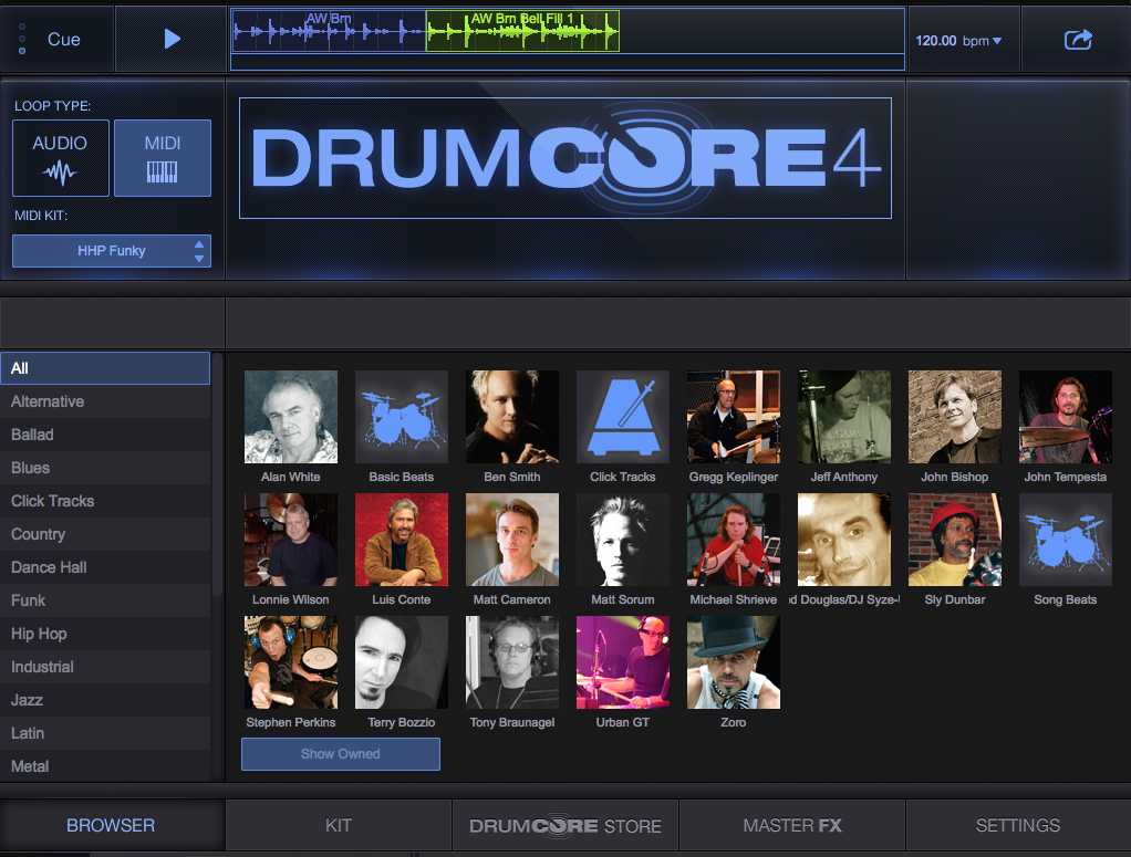 DrumCore 4 Drum Loops for Songwriters